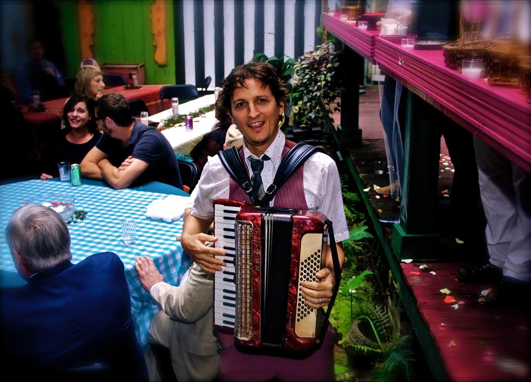 Greg Schatz on Accordion